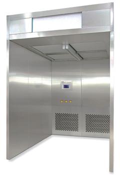 Sampling Dispensing Booth
